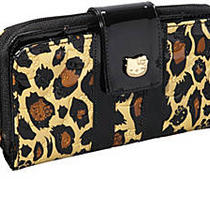 Loungefly Hello Kitty Leopard Embossed Wallet  Photo