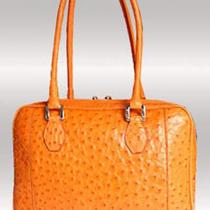 Luxury Ostrich handbag 3613 Photo