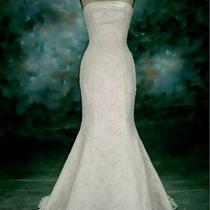 Maggie Sottero Wedding Dress Sz 10 Photo