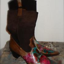 Magical Hand Painted Boots Photo