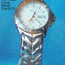 man&amp039s Bulova Watch Photo