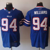 Mario Williams Nike Road/home Buffalo Bills Nfl Jersey Photo