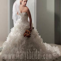 mary&amp039s Bridal Wedding Gown 5325 Sz. 4 Photo