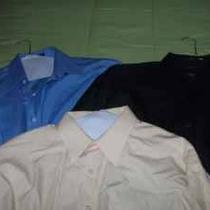 Mens Clothes Jeans Dress Shirts and Cargo Pants Photo