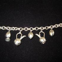Mexican Silver Charm Bracelet Photo