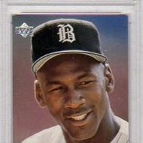 MICHAEL JORDAN CHICAGO WHITE SOX 1994 UPPER DECK TOP PROSPECTS #45 ROOKIE CARD PSA GRADED NM-MT 8 Photo