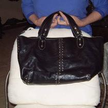 Michael Kors Black Leather Large Bag Photo