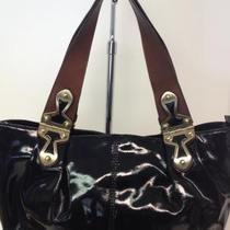 Michael Kors. Black Patent Bag Photo
