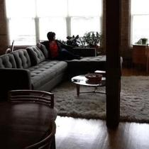 Mid Century Clean Lines Sectional Couch Photo