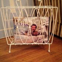 Mid Century Modern Magazine Rack Photo