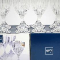 Mikasa Park Lane Crystal Goblet - Set of 8 Photo