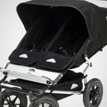 Mountain Buggy Urban Double Elite Stroller in Black Photo