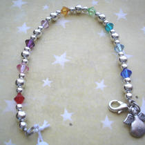 Multi Color Swarovski Crystals - Bracelet Photo
