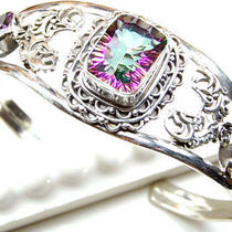 Mystic Fire Topaz Sterling Silver Cuff  Photo