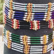 Native American Cedarberry Beaded Chokers Photo