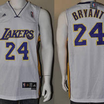 New Adidas Nba La Lakers Away/home Jersey 24 M-Xxl Kobe Bryant Photo