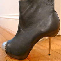 New Christian Louboutin Knockoff Ankle Boots Size 8 Photo