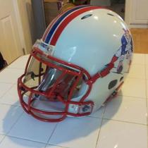NEW ENGLAND REVOLUTION PATRIOTS THROWBACK FOOTBALL HELMET Photo
