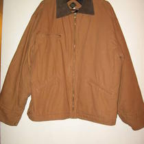 New men&amp039s Duck Jacket Nice Work Jacket Size Xl by Canyon Creek Leather Photo