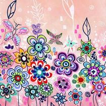 New Original Painting &quot;The Pink Garden&quot; my new Enchanted Dreams Collection Photo