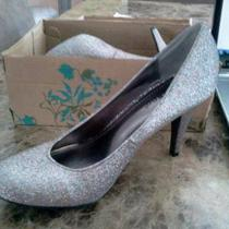 Nibnever Worn Multiglitter Heels by Bamboo Photo