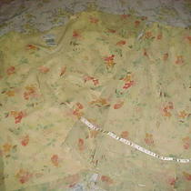 Nice Springy Looking Skirt and Top Size 18w/20w Photo