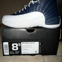 Nike Air Jordan Xii 12&amp039s French Blue Mens 8.5 Photo