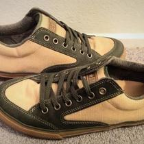 Olive Green & Hemp Converse Photo