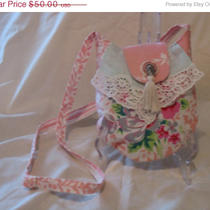 On Sale Vintage Style Bridal Flower Girl Purse/shoulder Bag Photo