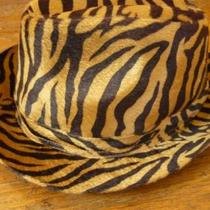 One of a Kind Leopard Print Fedora Photo