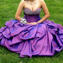 One of a Kind Purple Dress Photo