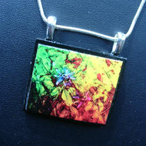 Passion Flowers Ii Digital Art Wearable Art Pendant Photo