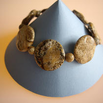 Picture Jasper Bracelet Photo