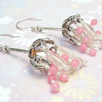 Pink Belle Earrings Photo