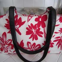 Preston and York Red Flowered Shoulder Bag Photo