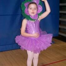 Purple Flower Ballett Custome Size 5 Photo