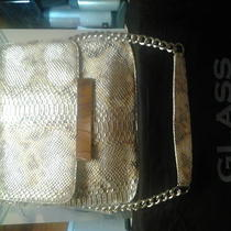 Python Embossed Silver Leather Designer With Built in Light System Photo