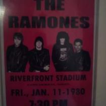 Ramones event posters, set of 2 Photo