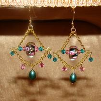 Ready to Ship - Giselle Gypsy Earrings in Gold Photo