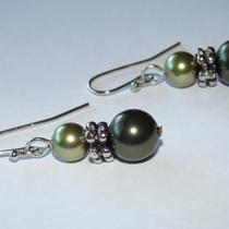 Ready to Ship - Olivine Earrings Photo