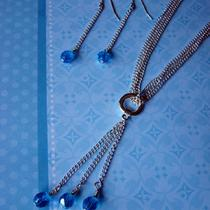 Ready to Ship - Sale - Deziree Necklace and Earrings Set Photo