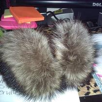 Real Fur Ear Muffs Photo
