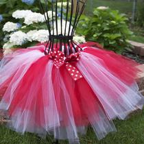 Red and White Tutu Photo