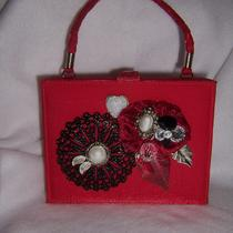 Red Hot lover&amp39s...purse...upcycled and Delightful Photo