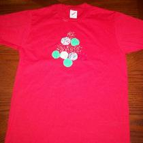 Red Shirt With Christmas Tree Size Small Photo