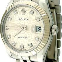 Rolex Datejust 18k Ssteel Jubilee Diamond Ladies Watch Photo