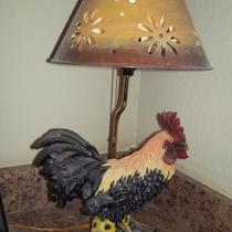 Rooster Lamp Photo