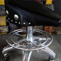 Saddle motorcycle stool Photo