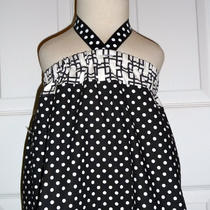 Sample - Halter Dress or Top - Will Fit Size 12-24 Month / 2t - by Boutique Mia and More - Ready to Ship Photo