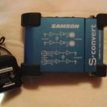 Samson S convert -10dBV TO +4dBu convertor  Photo